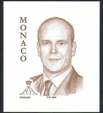 Monaco Famous People Postal Stamps