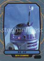 2013 Topps Star Wars Galactic Files 2 Blue Parallel #486 R2-D2 004/350