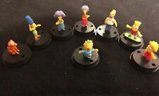"The Simpsons Full Set Collection Capsule  1"" Mini Figure Gashapon Gacha Yujin"