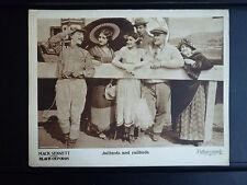 1924 BLACK OXFORDS - EX CON SILENT LOBBY CARD - MACK SENNETT HORSERACING COMEDY