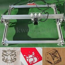DIY 50X65CM 3000MW Mini Laser Engraving Cutting Machine Engraver Printer Kit Hot