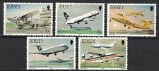 Jersey:1987 Sc#418-22 Mnh Jersey Airport, 50th Anniv. je191