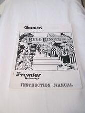 Gottlieb/Premier 1990 Bell Ringer Pinball Manual