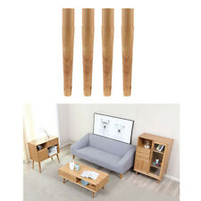 4x Long Solid Wooden Furniture Legs Sofa /Couch/Lounge/Chair/Table Feet 30cm