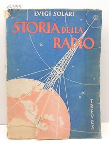 Luigi Solari Storia della radio Treves 1939