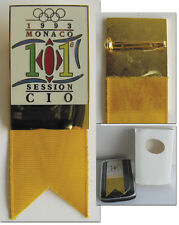 Participation Badge:  IOC- Session Monaco 1993 Olympic Games 1992