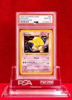 PSA 10 GEM MINT Shadowless Drowzee #49/102 Pokémon Base Set