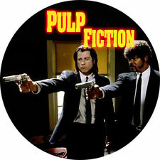 Parche imprimido, Iron on patch /Textil sticker/- Pulp Fiction