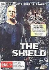 THE SHIELD – SECOND SEASON (DVD, 4-DISC SET) R-4, NEW, FREE POST IN AUSTRALIA