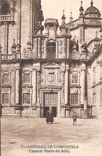 Spain Santiago de Compostela Catedral, Puerta del Reloj