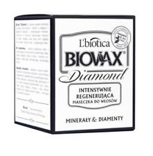 L`BIOTICA LBIOTICA BIOVAX DIAMOND INTENSIVE REGENERATING HAIR MASK MINERALS DIAM