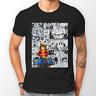 Rufy Intero Manga Striscia Anime Pirata Unisex Tshirt T-Shirt Maglietta Tutte le