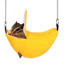 Pet Bird Hamster Ferret Rat Squirrel Hammock Hanging Cage Nest Bed House Toys Hs