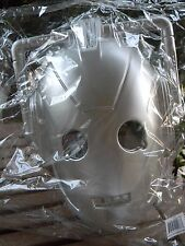 Doctor Who Enemy CyberMan Face Mask Vacuform Plastic Licensed BBC Dr Costume NEW