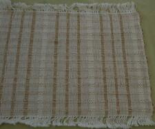 "Vintage Woven 18"" x 13"" Placemat Set - Includes 6 Placemats - VG CONDITION"
