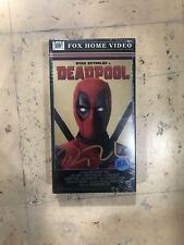 Deadpool VHS Ryan Reynolds Signed SDCC exclusive 2016 sealed