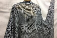 *NEW*Fine Quality 100%  Polyester Geometric Print  Dress/Craft Fabric*FREE P&P*