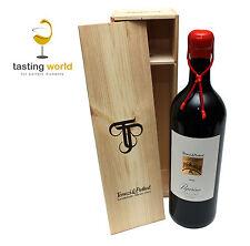EXKLUSIV Doppelmagnum 3 Liter PEPERINO 2013 Toskana +Holzkiste Wein-Geschenkidee
