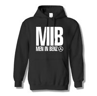 Mercedes benz hoodie logo Man in Black Funny Movie amg Gift Grey pullover