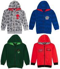 Boys Character Hooded Jacket Kids Super Hero Full Zip Hoodie Hoody Gift Size