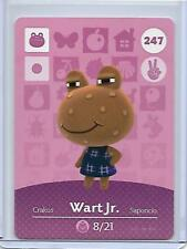 247 Wart Jr. Animal Crossing amiibo card US version mint condition in toploader