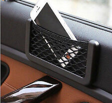 Car SUV Universal Storage Net Resilient String Bag Organize Phone GPS Coins Card