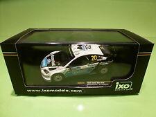 IXO 1:43 - FORD FOCUS WRC - 20 RALLY FINLAND 2008  RAM338   - IN  ORIGINAL  BOX