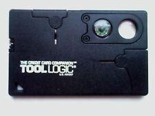 TOOL LOGIC CREDIT CARD, used no case