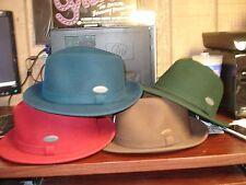 KANGOL  LITEFELT HIRO TRILBY HAT- 100% Wool-6 Colors-NWT