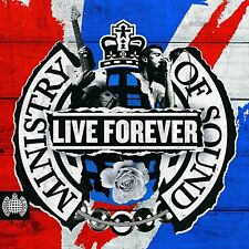 LIVE FOREVER (Oasis / Stone Roses / Happy Mondays / New Order) 3 CD SET (2018)