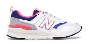 NEW BALANCE  997H Deadstock White Pink Blue Sneakers Mens Size 11 CM997HAJ