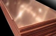 "Alloy 110 Surplus copper sheet - .040"" x 24"" x 24"""