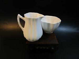 Pretty Creamer Milk Jug & Sugar Bowl
