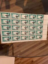HIGHER EDUCATION Plate Block of 25 X 4 cents Scott SC#1206 MNH OG 1962 STAMPS