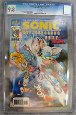 SONIC THE HEDGEHOG #116  - CGC 9.8  NM/Mint - Archie Adventure Series