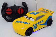 DISNEY RC CRUZ RAMIREZ RADIO REMOTE CONTROL CAR - CARS 3 TV CHARACTER LowPRICE £