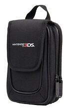 Official Nintendo 3DS Licensed Mini Transporter Console & Games Carry Case Black