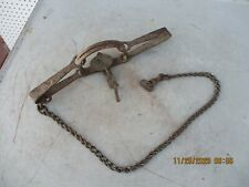 Vintage Victor #3 Trap Stamped Jaw US Fish & Wildlife Service Newhouse
