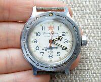 Watch USSR Vostok Amphibian Mechanical Wristwatch Wostok Vintage Rare