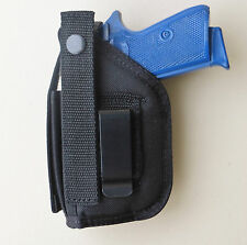 Gun Holster Hip with Mag Pouch for WALTHER PPK & PPK/S with Underbarrel Laser