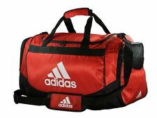 adidas Defender Training Duffel Bag Gym Fitness Soccer Travel Brand New Red
