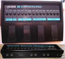 Boss BE-5 Para Guitarra O Bajo multi effects pedal & fuente de alimentación