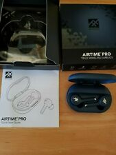IFROGZ AIRTIME PRO TRULY WIRELESS EARBUDS MIDNIGHT BLUE/CASE  BLUETOOTH NEW