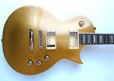 ESP LTD EC-400AC Metallic Gold Archtop Electric Guitar Singlecut MIK w/HSC