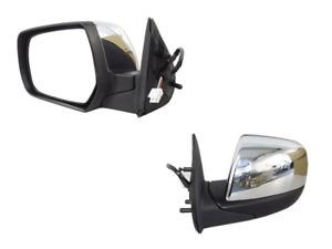 Left Hand Side Electric Door Mirror Chrome For Ford Ranger PJ/PK 2006-2011