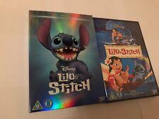 LILO Y STITCH DVD con Edición Limitada ILUSTRACIONES - Disney Classics - NUEVO /