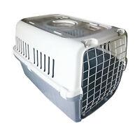 Transportbox für einen Hund Katze Kaninchen Flugbox Hundebox 55,5 x 38 x 34 cm