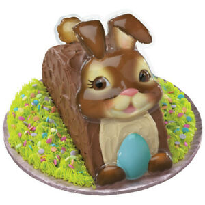 Brown Easter Bunny Cake Topper Creations