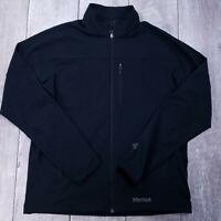 Marmot M3 Tempo Softshell Jacket Mens XL Black Full Zip Lightweight Windbreaker