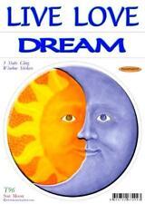 Sun & Moon - Static Cling Window Sticker